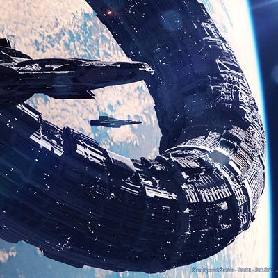 Erik stitt freelance artist starships and station sm