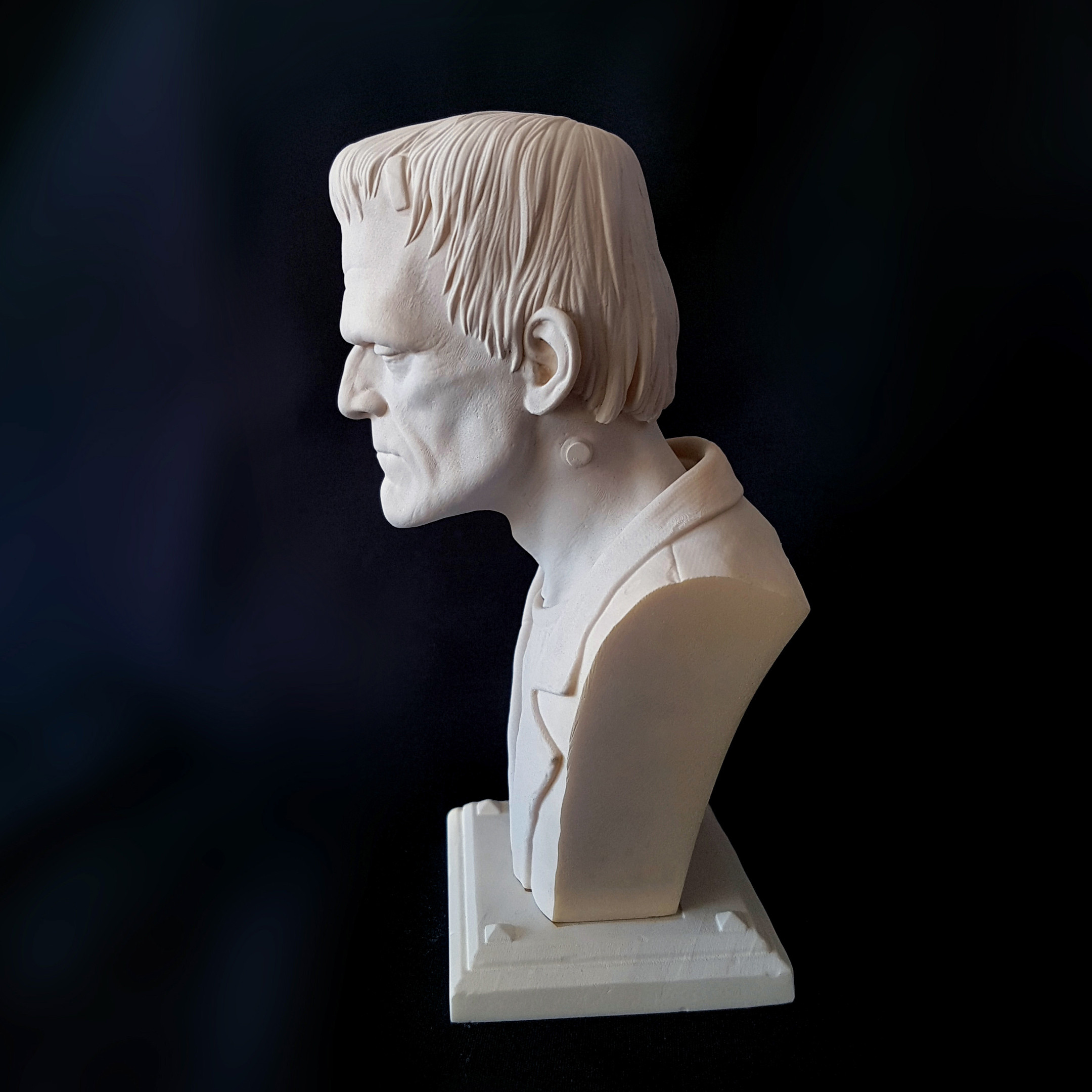 Actual resin 3D print