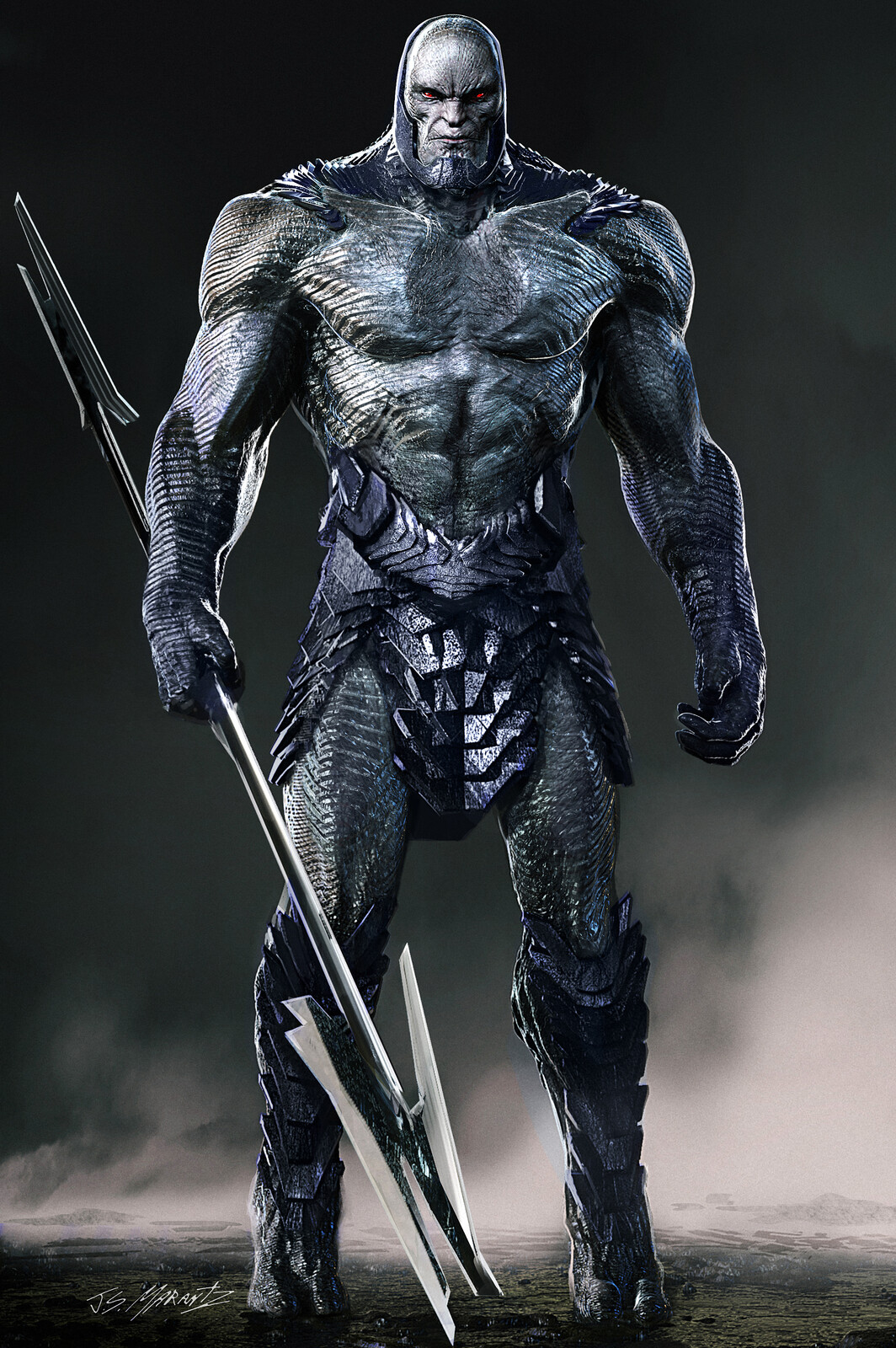 Darkseid / Uxas Designs for Zack Snyder's Justice League