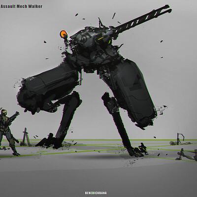 Benedick bana heavy assault walker final lores