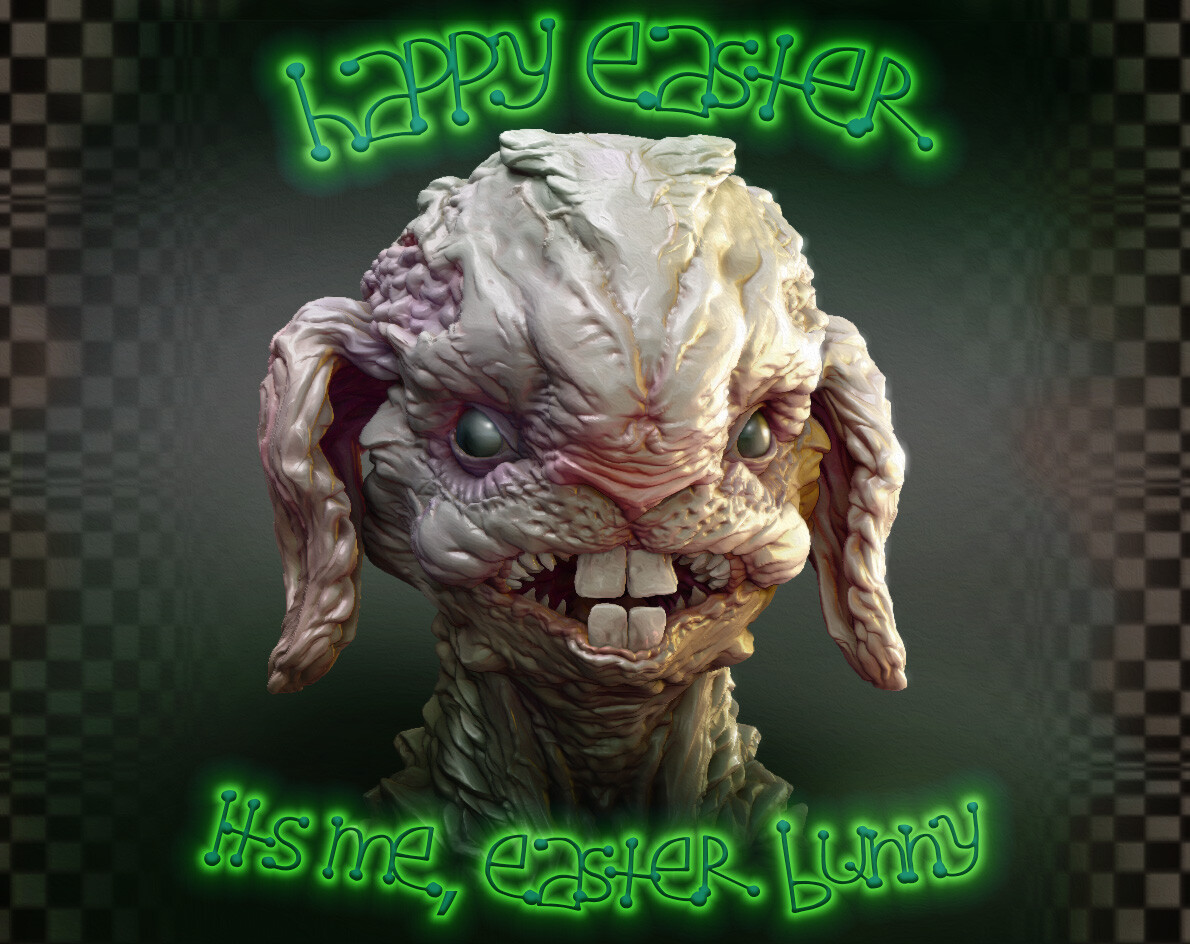 The image of the Easter Bunny you know is just fabricated by capitalism.