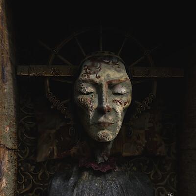 Surajit sen sleeping queen digital sculpture surajitsen april2021a l