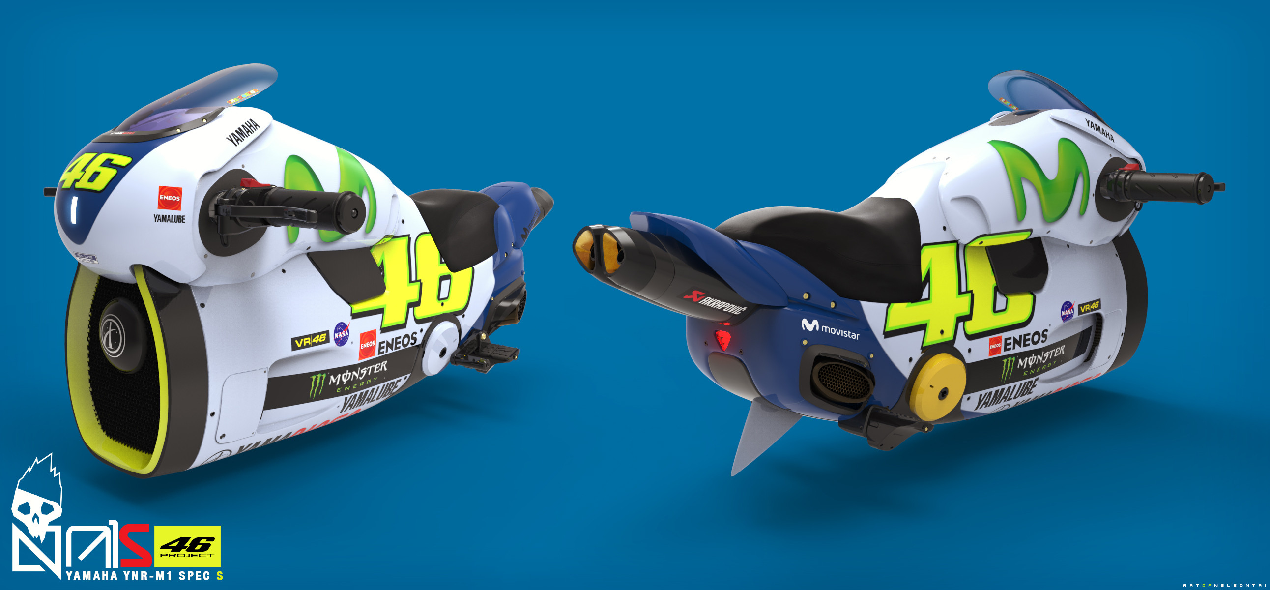 VR46 Hoverbike