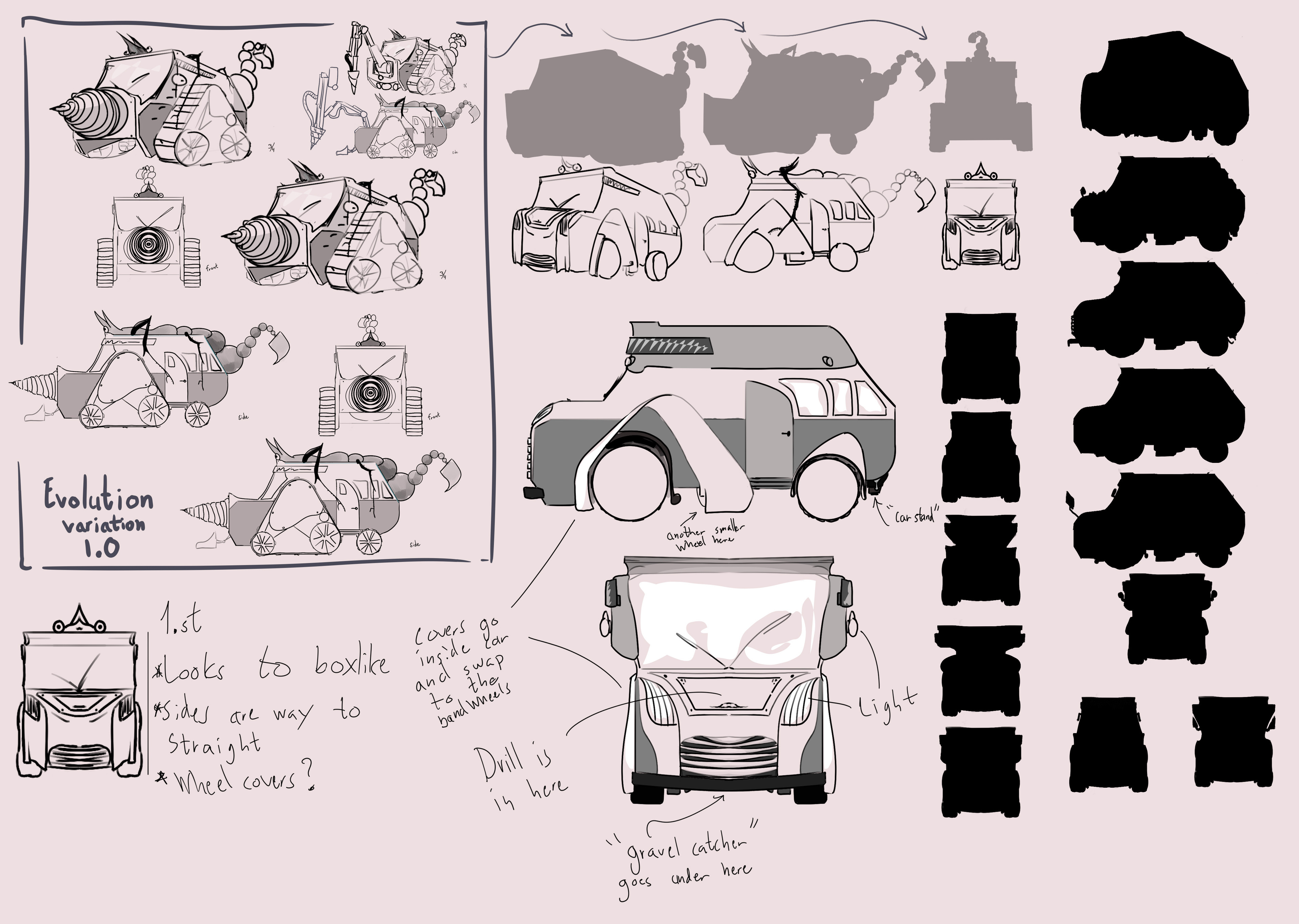 early exploration for underground van