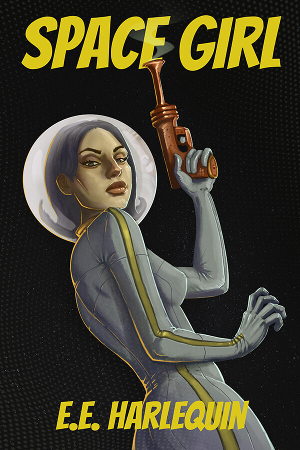 Space Girl Book Cover