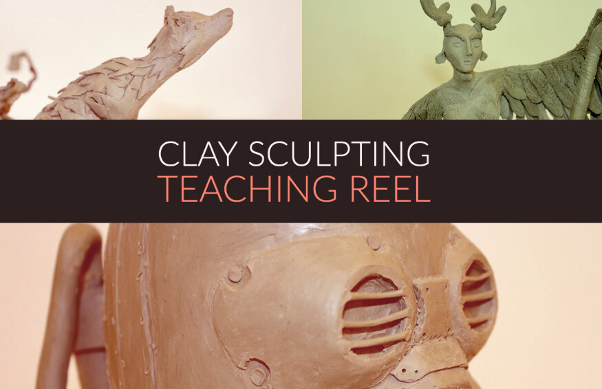 Clay Sculpting Teaching Reel, with Noroff Univeristy College from Norway