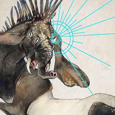 Beth sparks sketch 210315 unicornmeme drawing v001