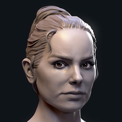 Daisy Ridley Portraiture