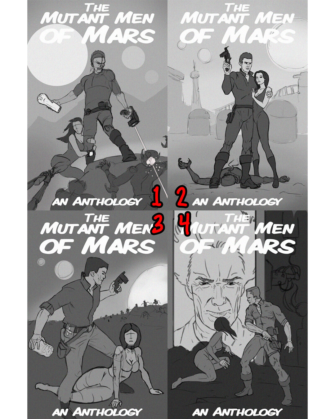 Mutant Men Thumbnails