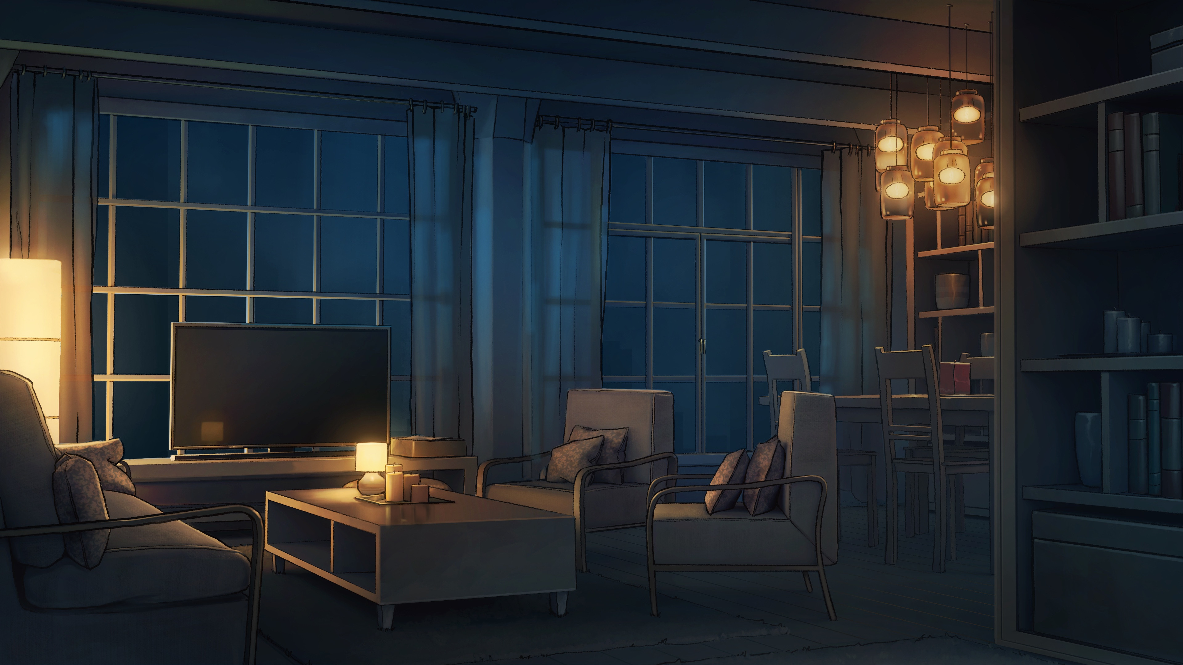 Apartment - final background