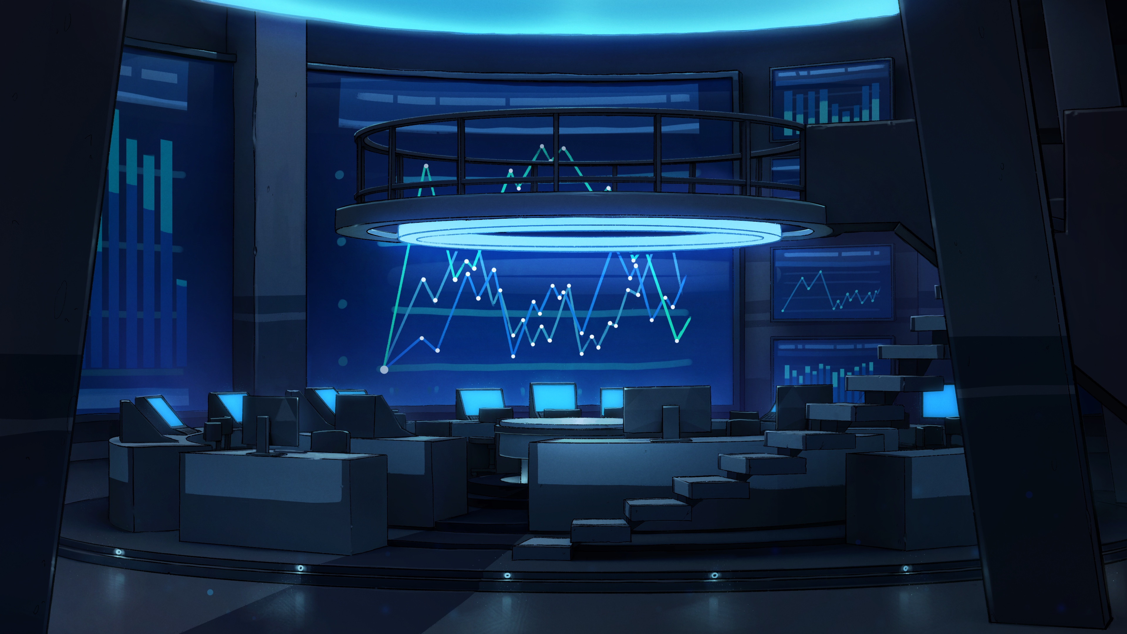 Control room - final background