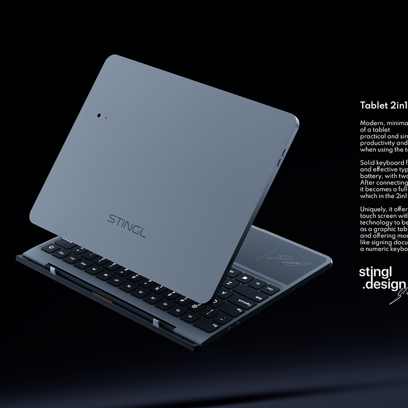 Tablet 2in1
