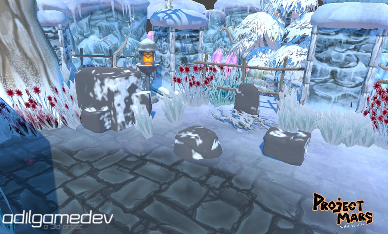 Engine screenshot, Unity Standard pipeline was used here.