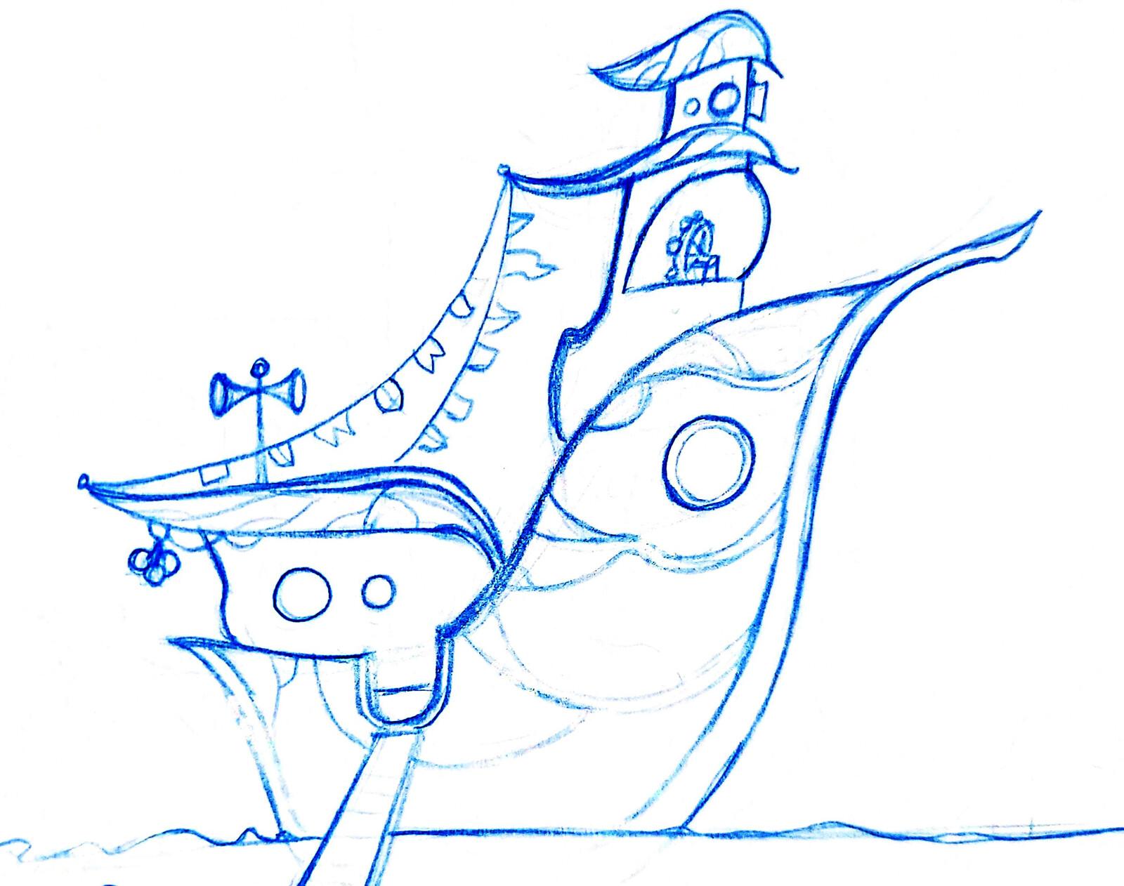 Sketchbook - SS Bugonia