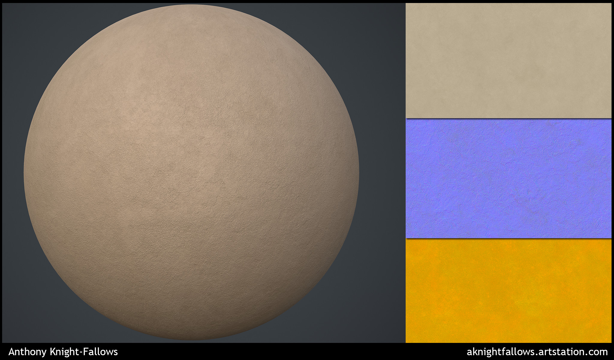 Fully procedural materials authored within Designer.
