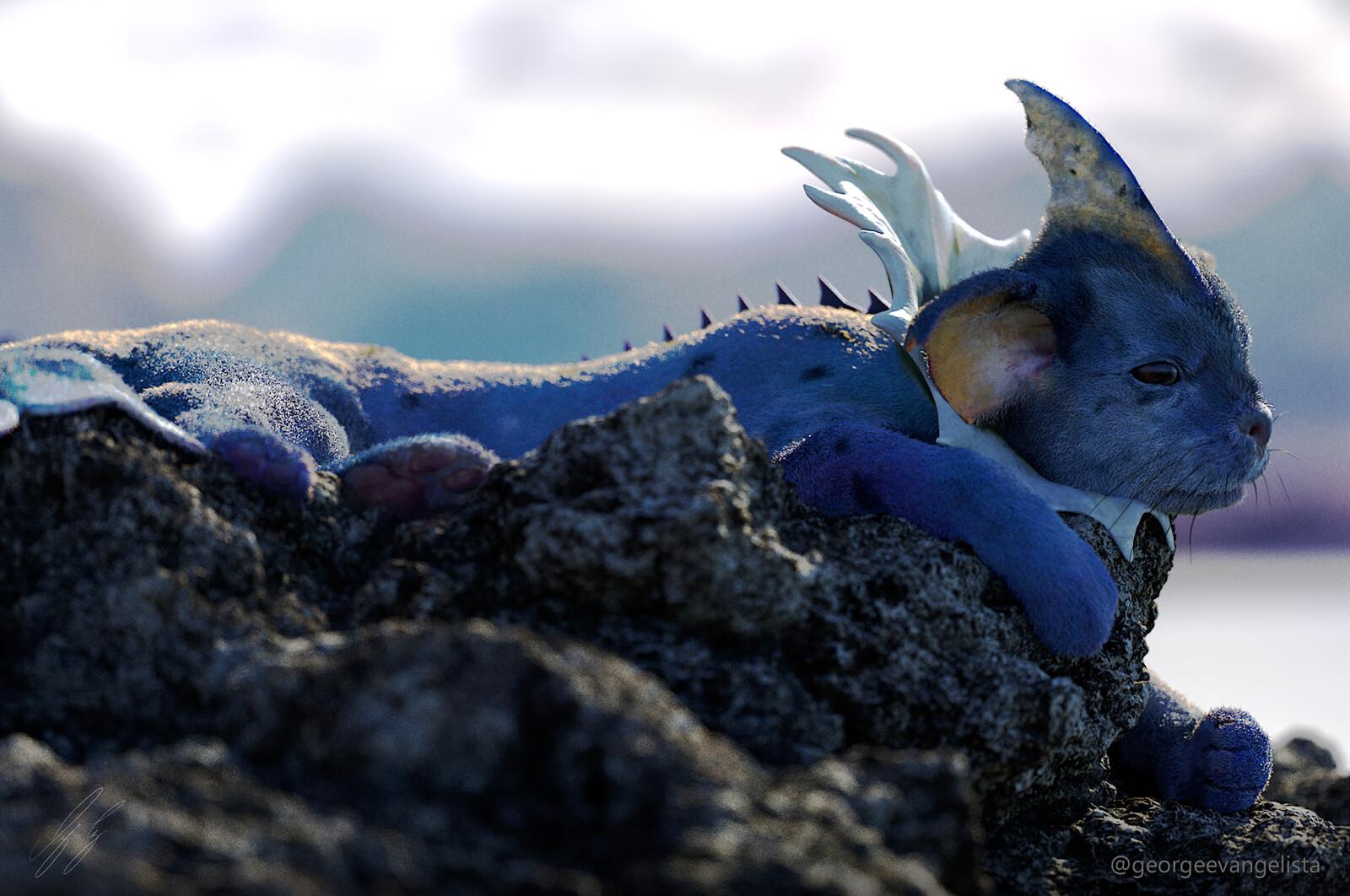 Coastal Life 2 - Vaporeon