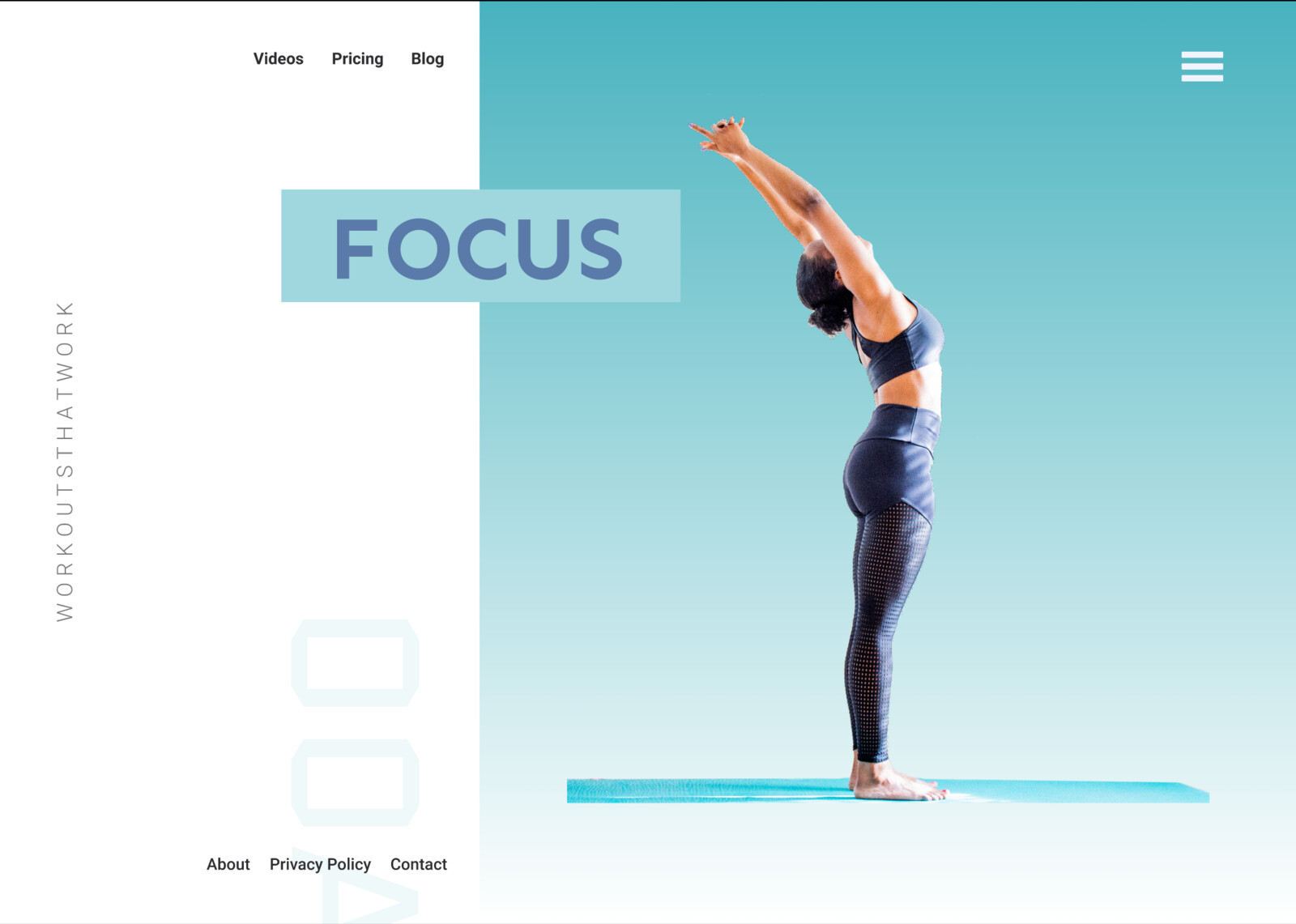 Focus Website Page