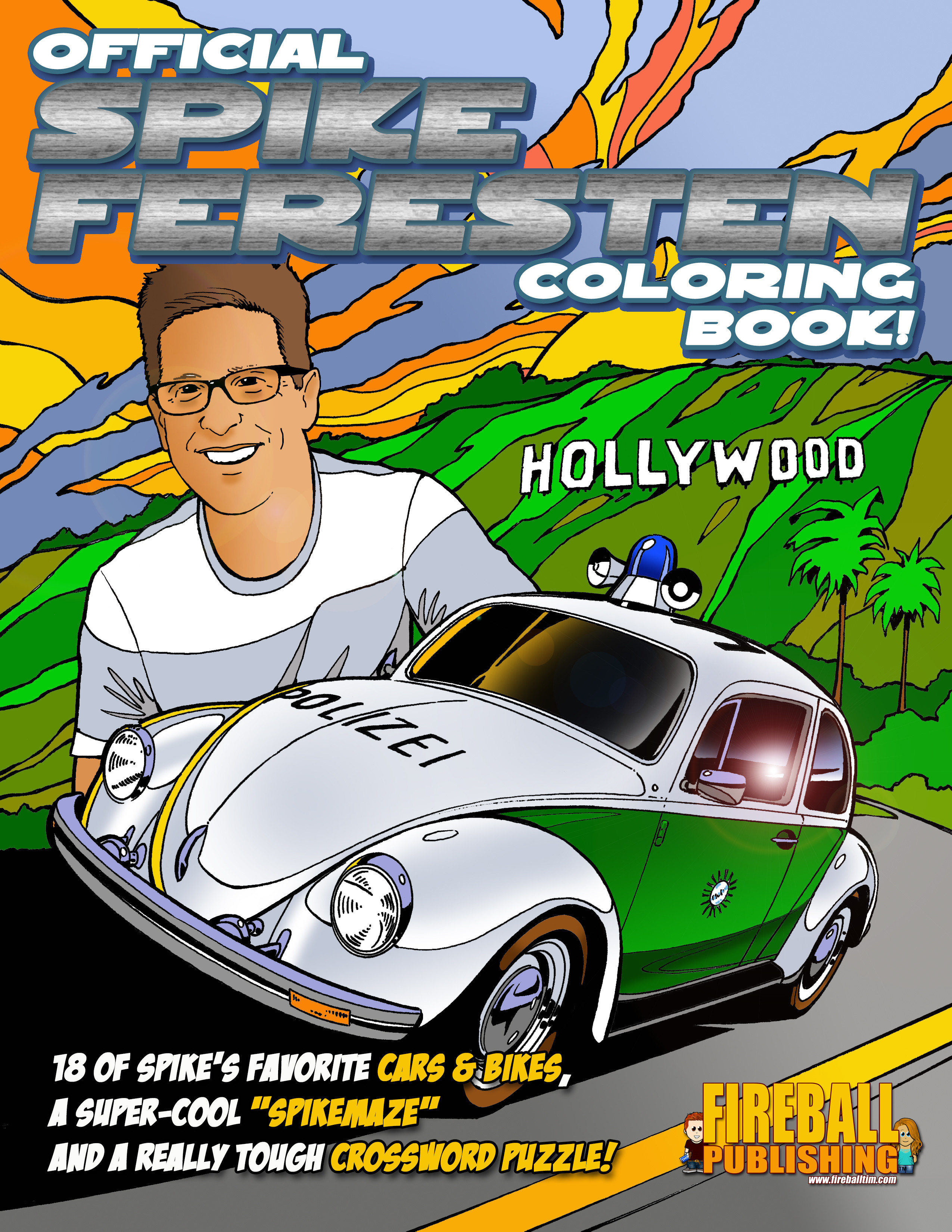 The Official SPIKE FERESTEN Coloring Book