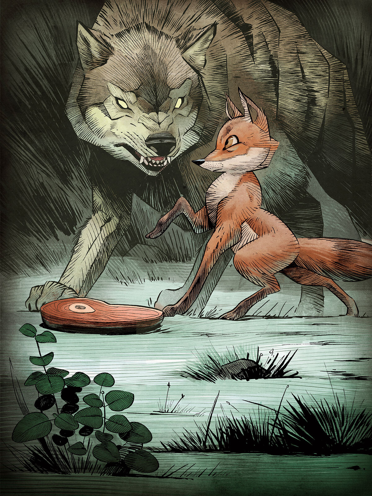 The Wolf and the Fox
