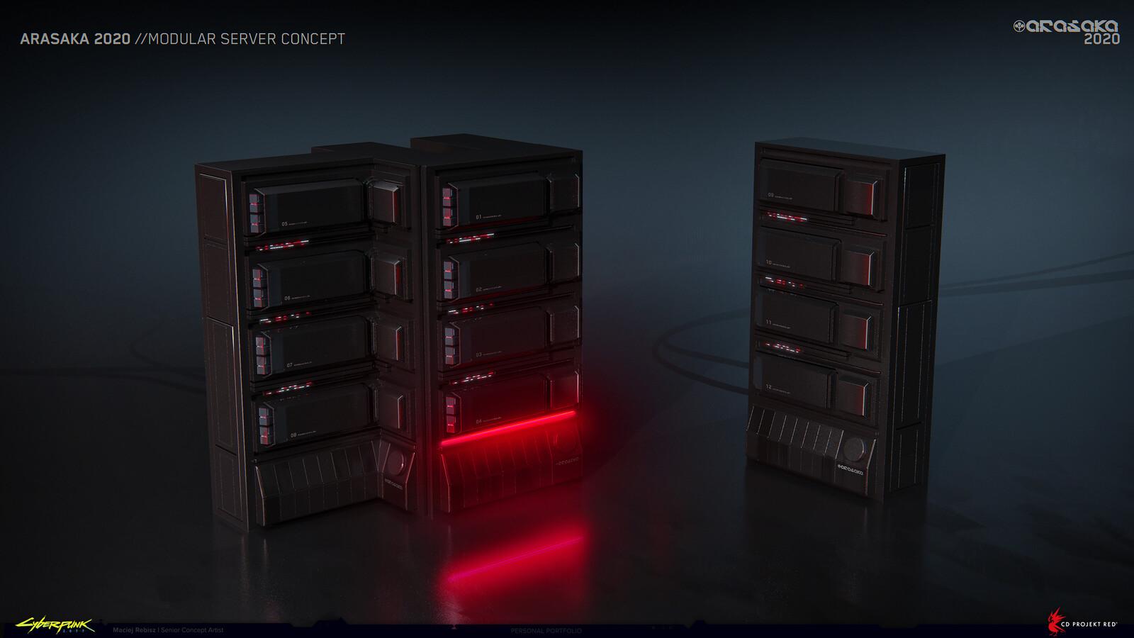 Arasaka servers