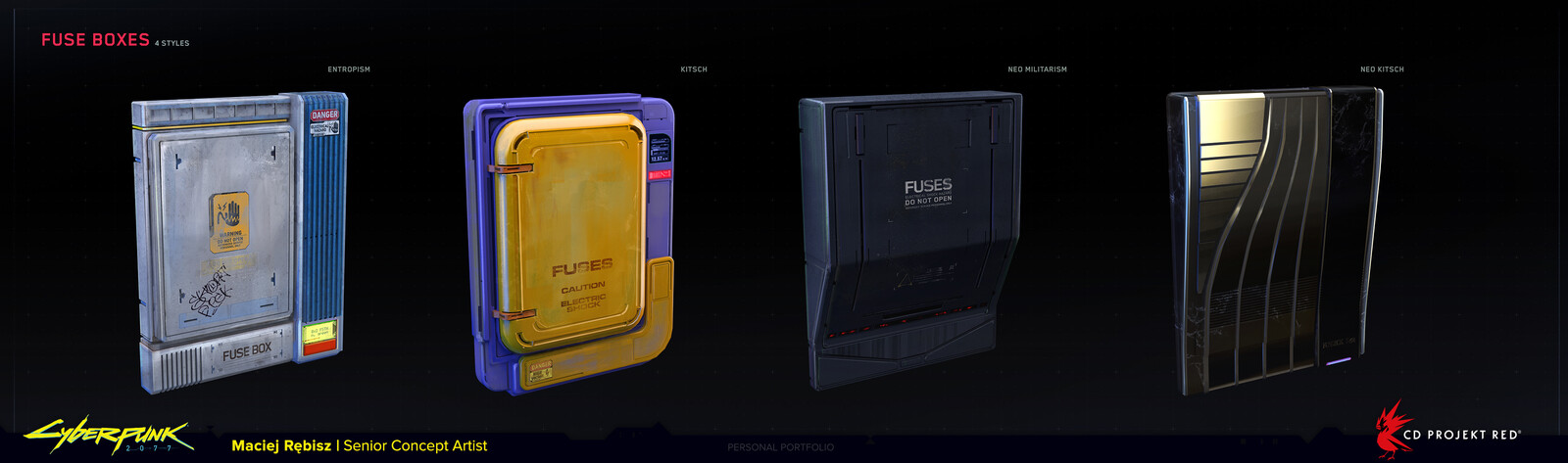 Fuse boxes