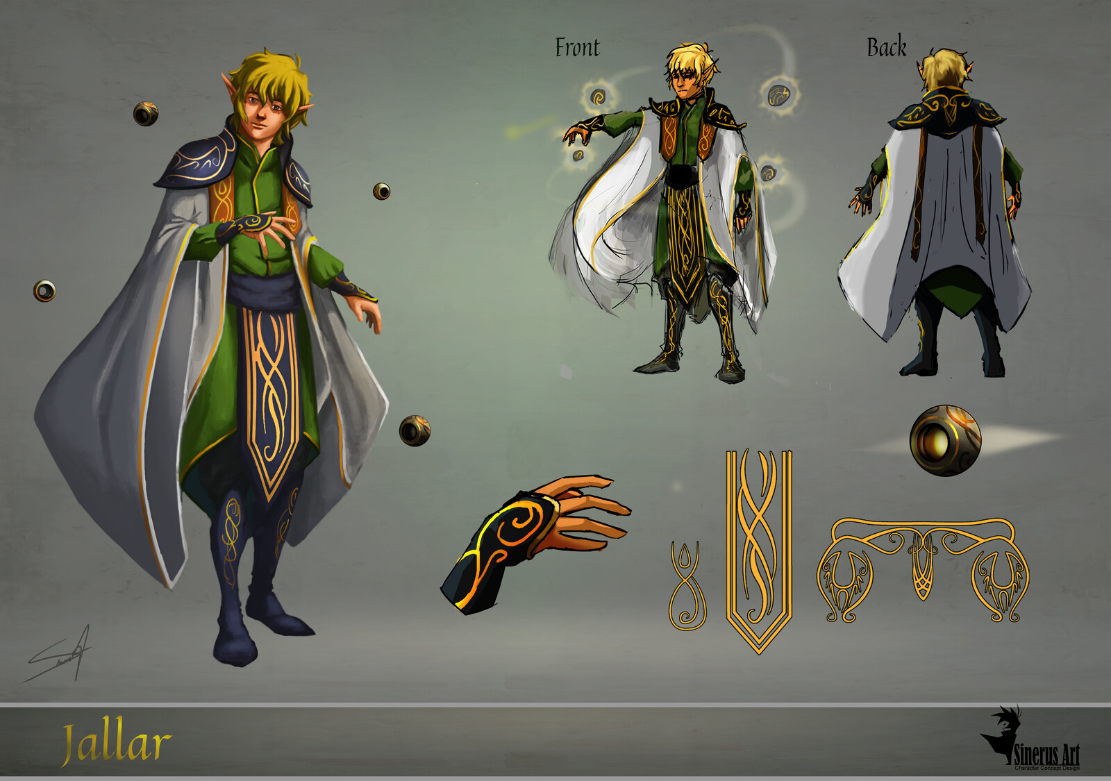 Jallar Character Design