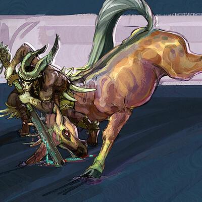 Collette curran unicorn