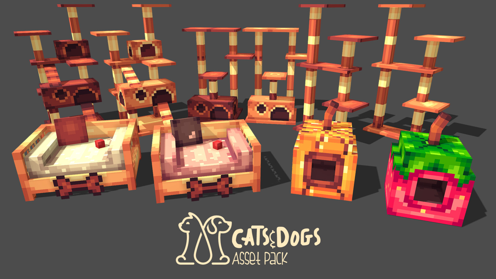 Cats n Dogs Asset Pack
