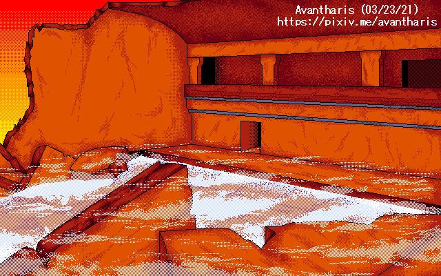 Ruins in Blaze Valley - IV