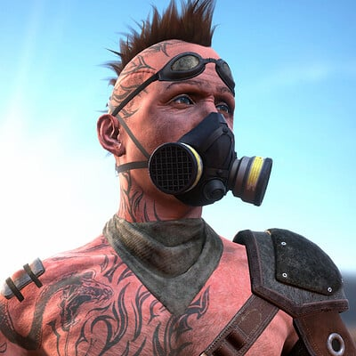 Wastelander Real-time Character