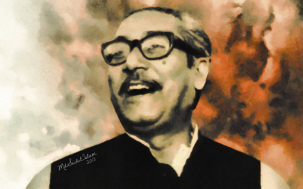 Bangabandhu Sheikh Mujibur Rahman, the greatest gift to humanity  License: Creative Commons Attribution-Noncommercial-No Derivative Works 3.0 License
