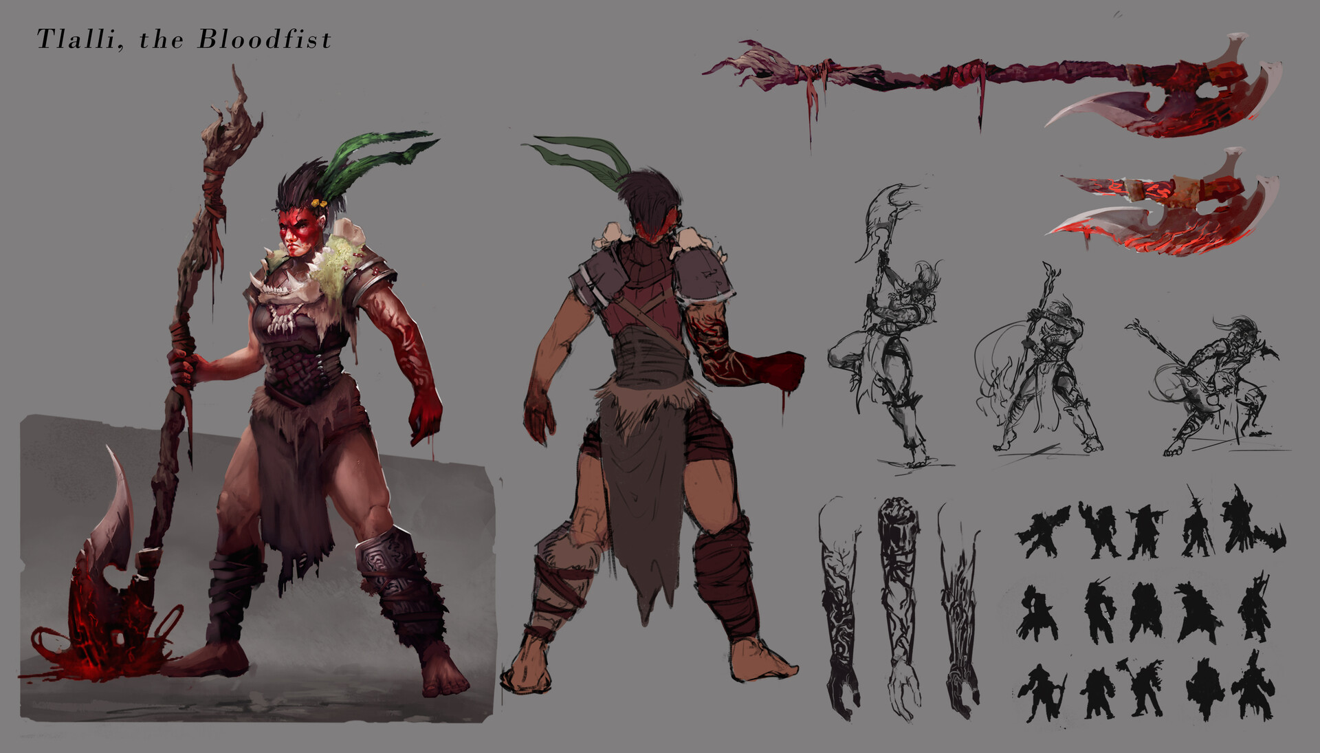 Tlalli, the Bloodfist