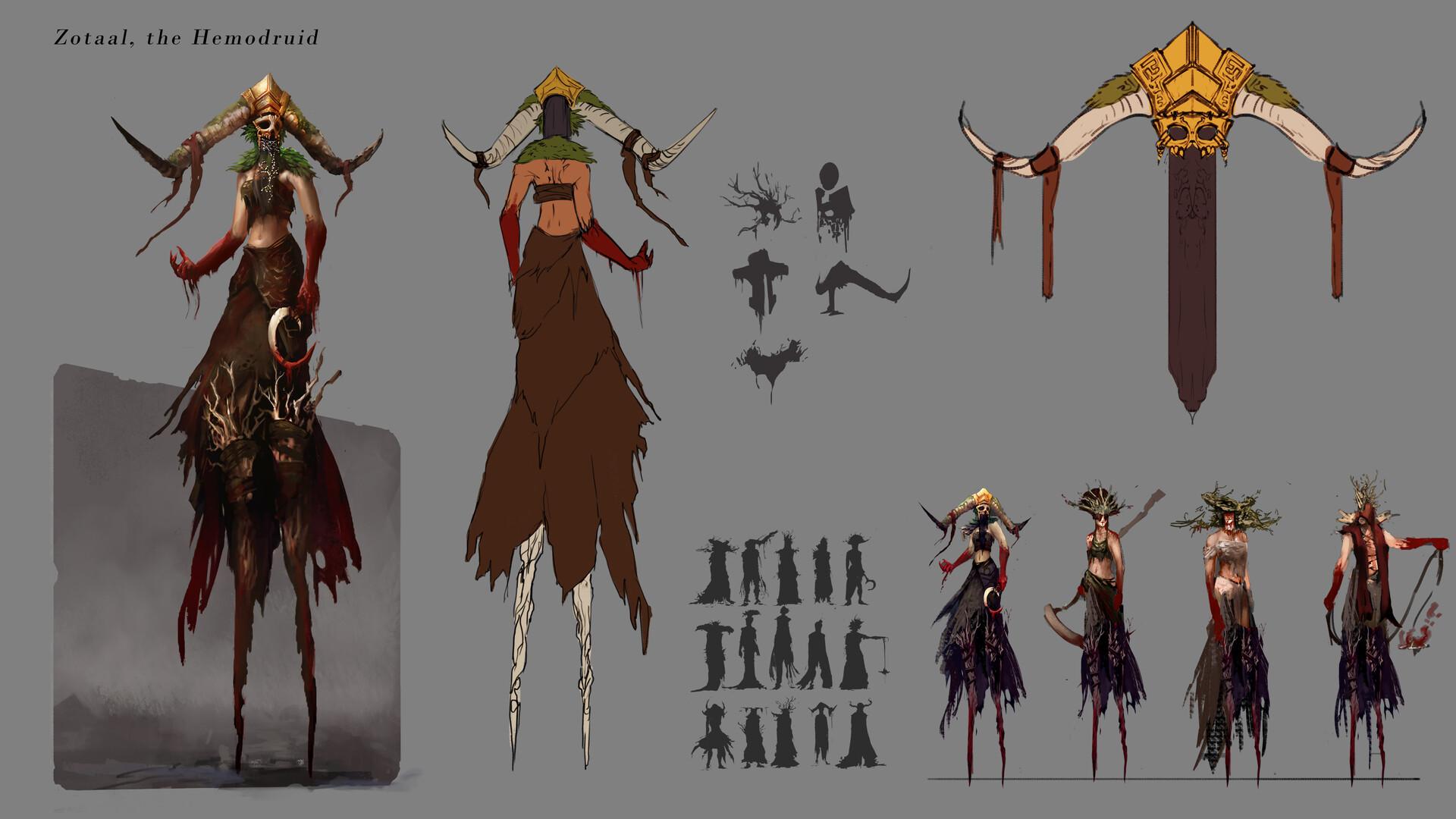Zotaal, the Hemodruid