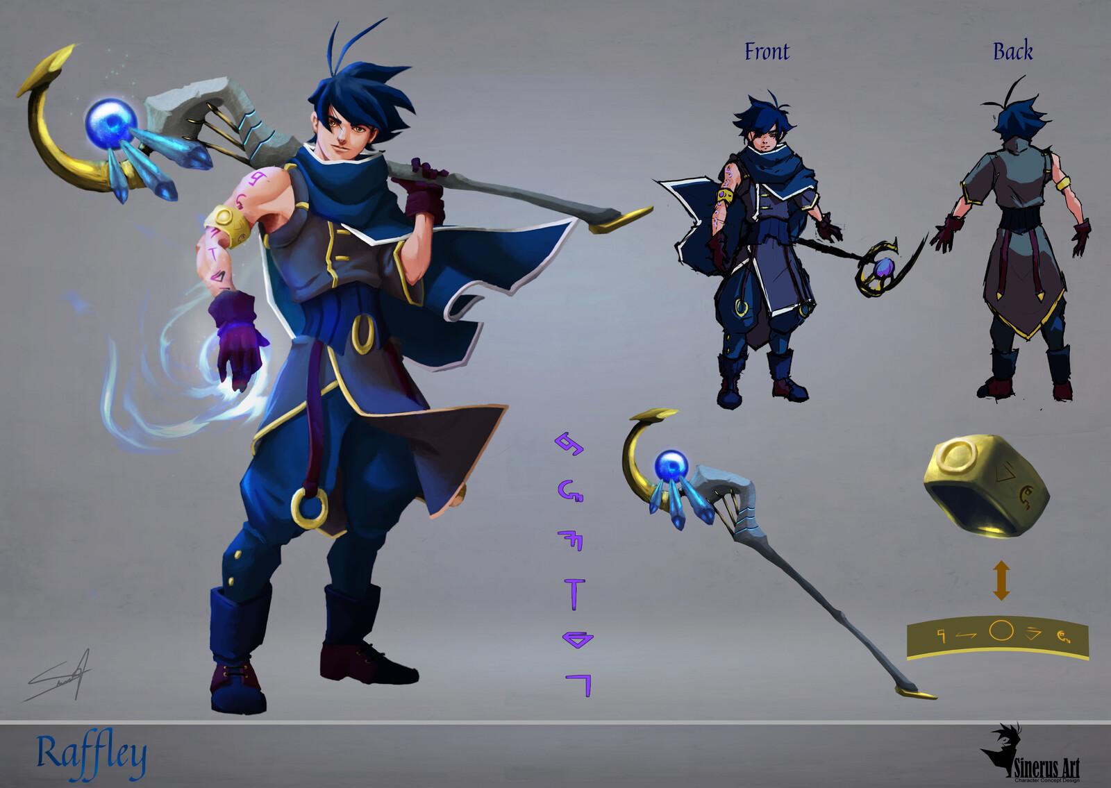 Character Sheet Raffley