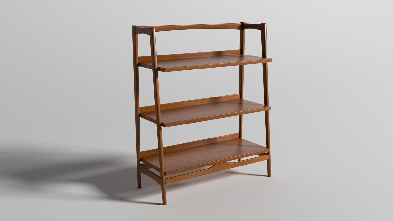 Mid-Century Book Shelf