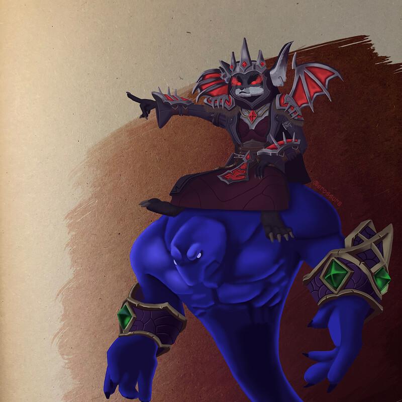 BlackFox, Champion of the Venthyr