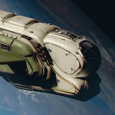 Nicolas gekko maverick space ship nikolas gekko 1