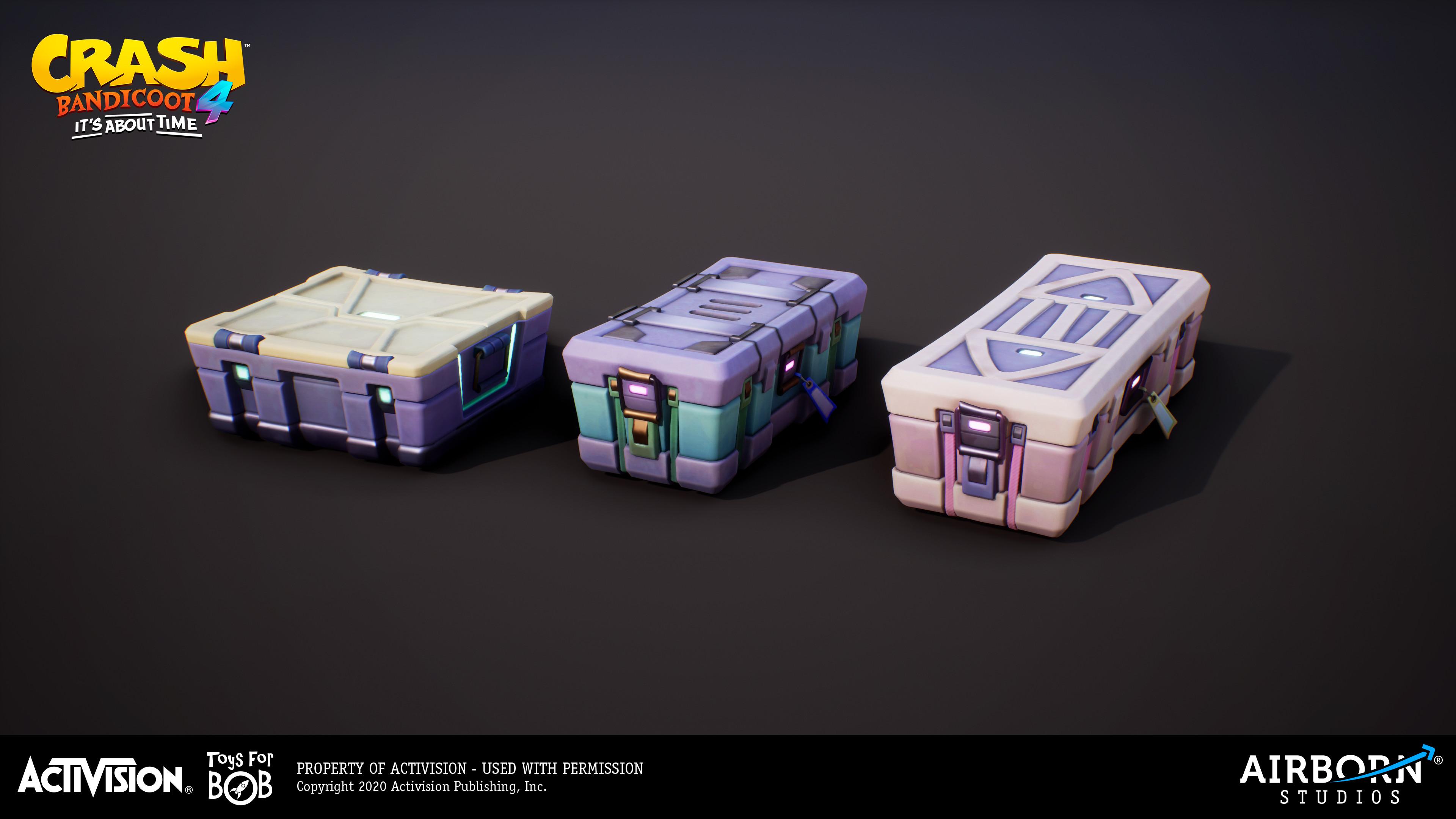 Crates by Frédéric Fouque