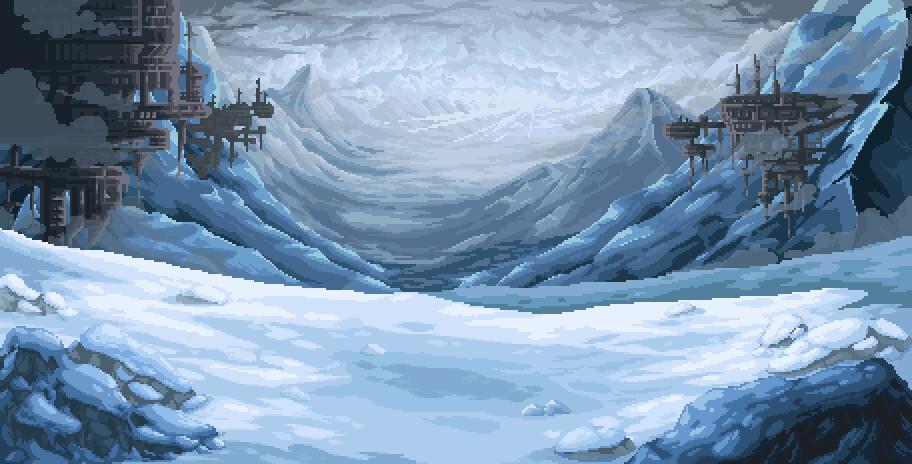 Pixel illustration #27 // Commission