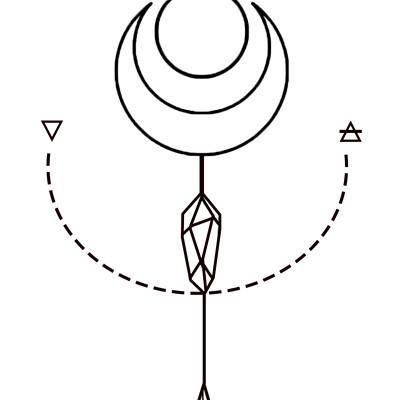 Kat townsend crystalspellshop logo