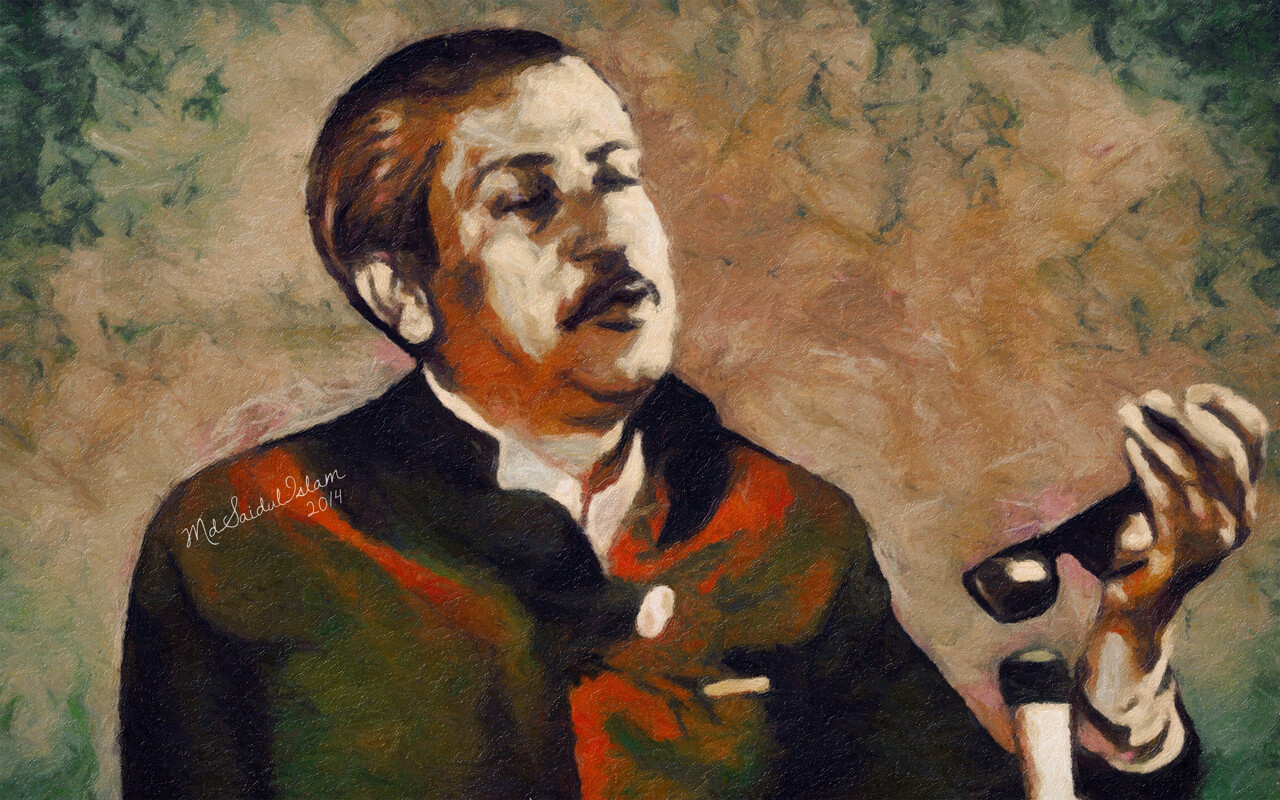 Bangabandhu Sheikh Mujibur Rahman - the architect of the country's independence  License: Creative Commons Attribution-Noncommercial-No Derivative Works 3.0 License
