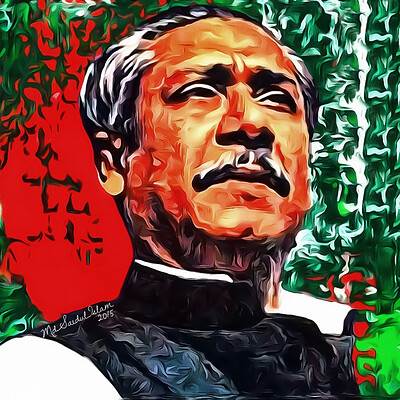 Md saidul islam 70 sheikh mujibur rahman father of bengali nation