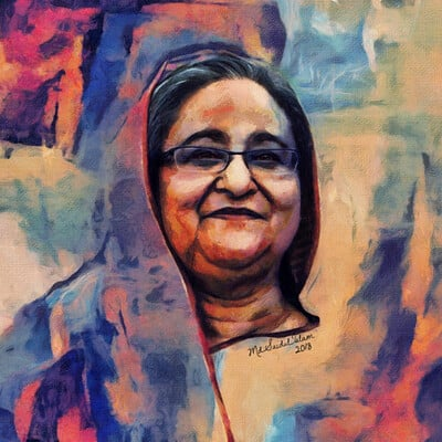 Md saidul islam sheikh hasina daughter of the father of the nation by saidulislam
