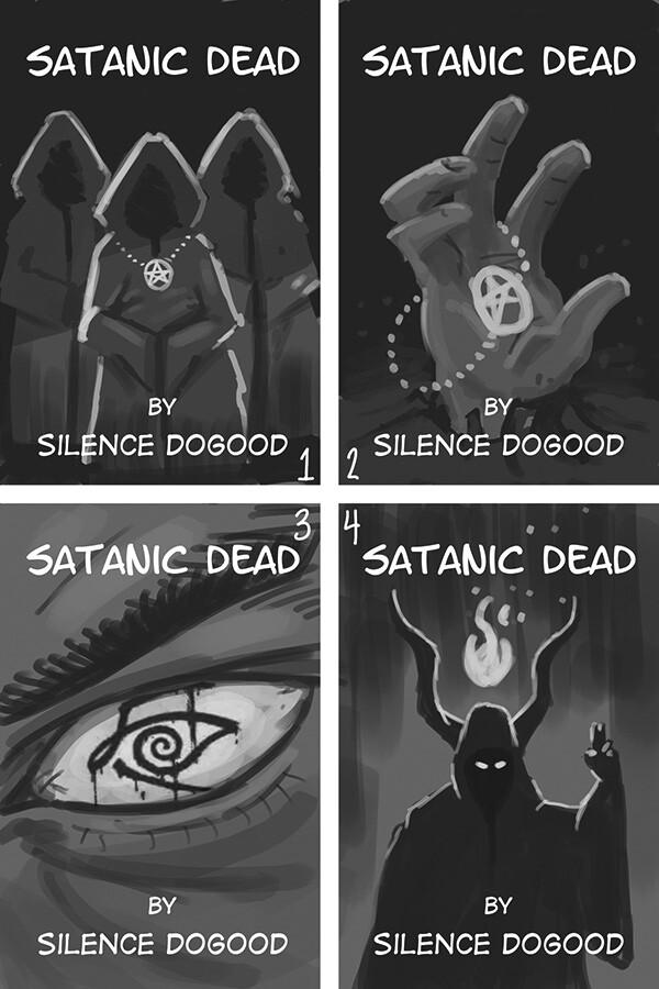 Satanic Dead concept sketches