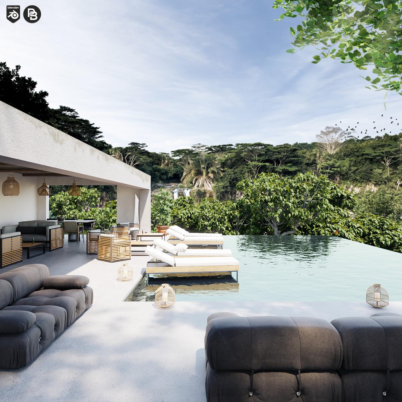 Waterfall Resort