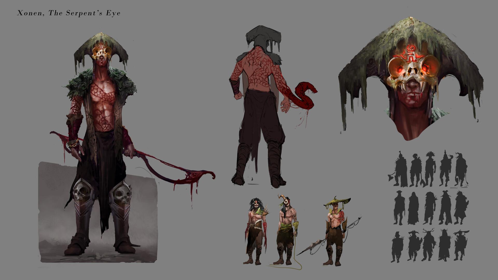 Xonen, the Serpent's Eye