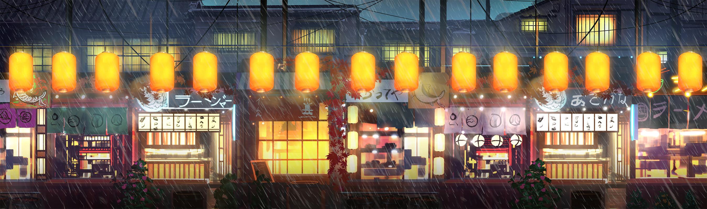Japanese Market: side shot