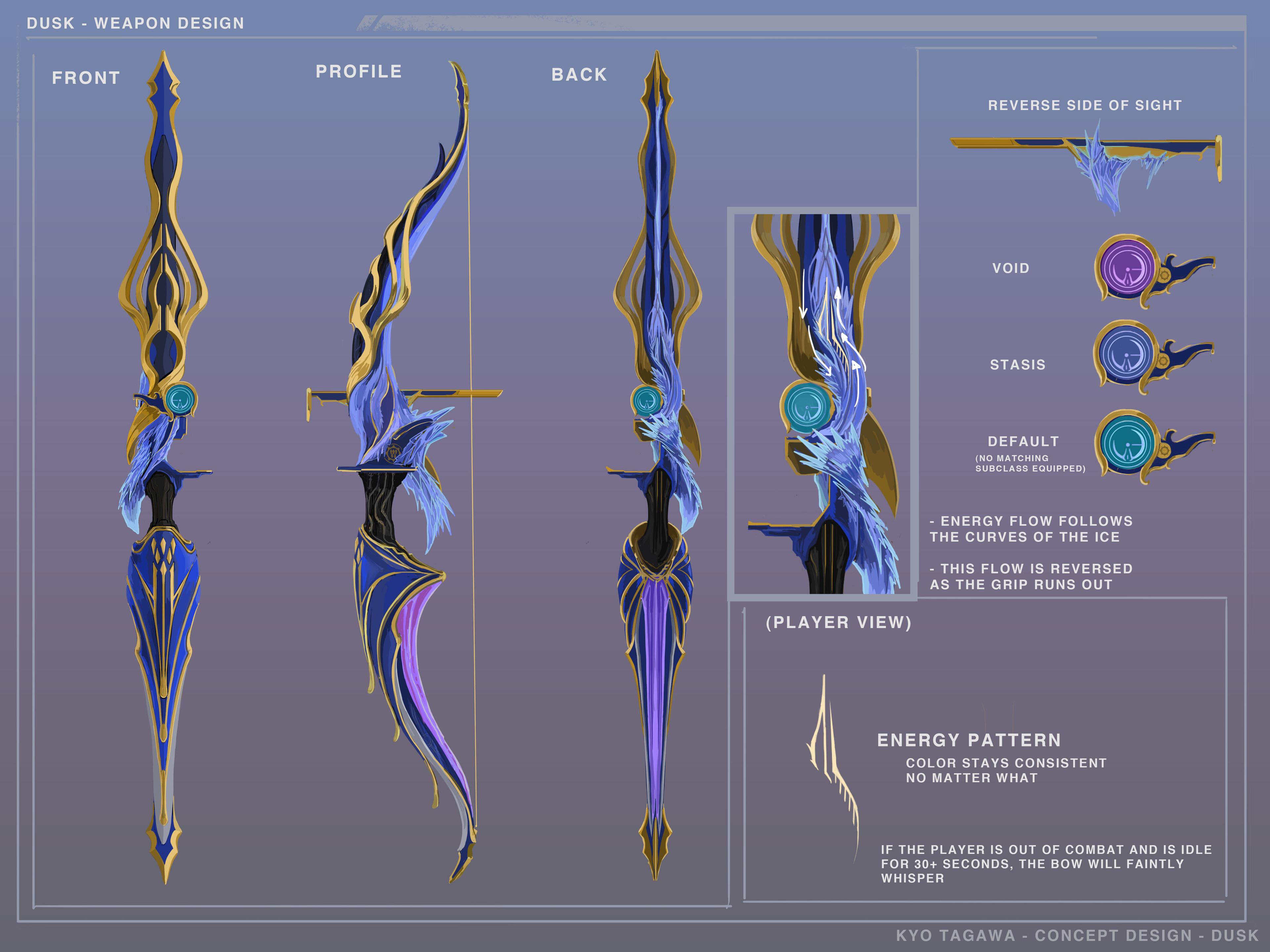 Dusk - Exotic Bow Concept
