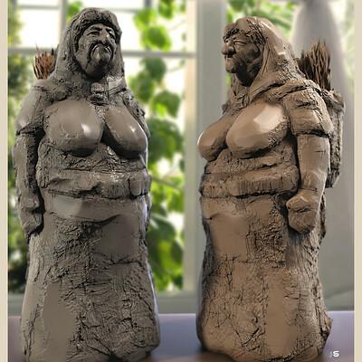 Surajit sen gran digital sculpture surajit sen april2021al