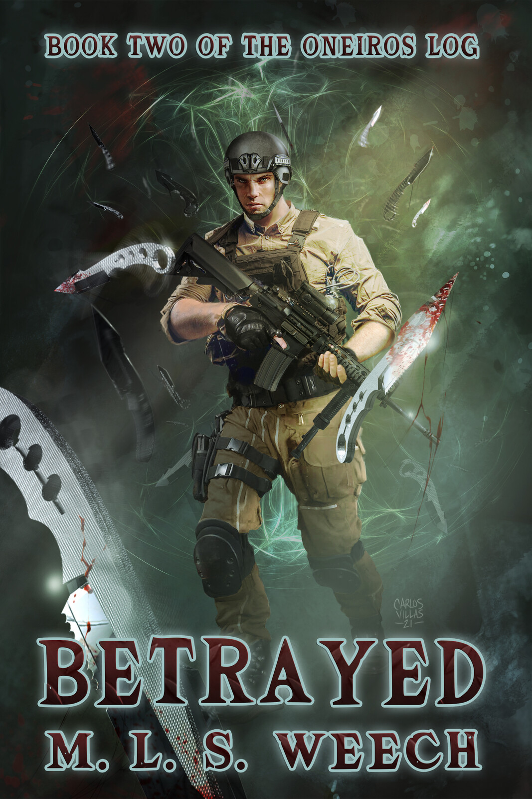 BETRAYED / book cover